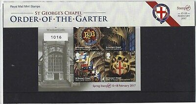 Great Britain 2017 Stampex Limited Edition Presentation Pack N0.1016