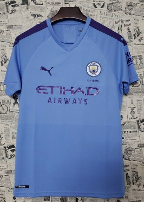 Manchester City Home 19 20 size large