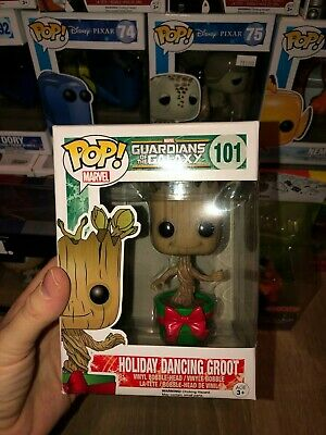 Funko Pop! Marvel Guardians of the Galaxy - Groot Holiday Dancing 101