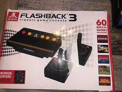 Atari - Flashback 3 Classic Video Game Console With 60 Games