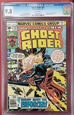 Ghost Rider #22 cgc 9.8  White Pages  ghostrider