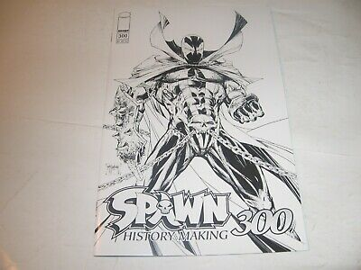 SPAWN #300 Cover A BLACK-n-WHITE McFarlane  Image -1st Print 2019 NM++ SOLD OUT