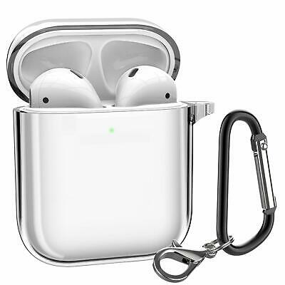 For Apple AirPods Charging Case Clear Crystal Case Bag Cover Skin Protective USA