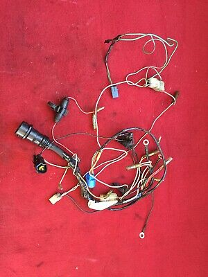1989 YAMAHA OUTBOARD Two Stroke 70hp ETLG wiring harness 6H3 ... on