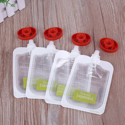 10/20/50PCS Home Baby Food Maker Baby Food Storage Baby Food Pouches