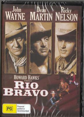 Rio Bravo - John Wayne - New Dvd - Free Local Post