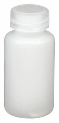 Azlon Narrow Mouth Round Dispensing Bottle, Plastic, 30mL, Clear, 12 PK