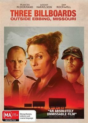 Three Billboards Outside Ebbing, Missouri (DVD, 2018) Region 4
