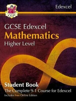 New Grade 9-1 GCSE Maths Edexcel Student Book - Higher (with On... 9781782949589