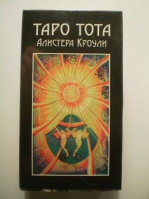 New Aleister Crowley Thoth Tarot 78 Cards Deck Oracle ТАРО Тота Алистера Кроули