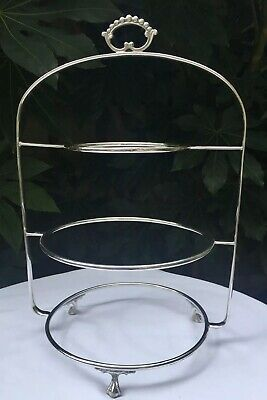 Stunning Arthur Price 3 Tier Silver Plated Cake Stand