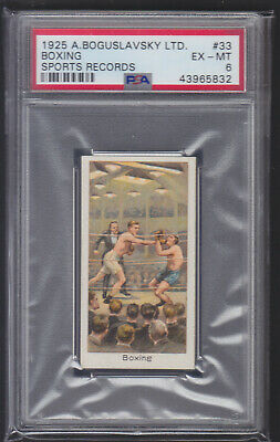 Boguslavsky - Sports Records 1925 - Boxing - PSA 6 EX-MT