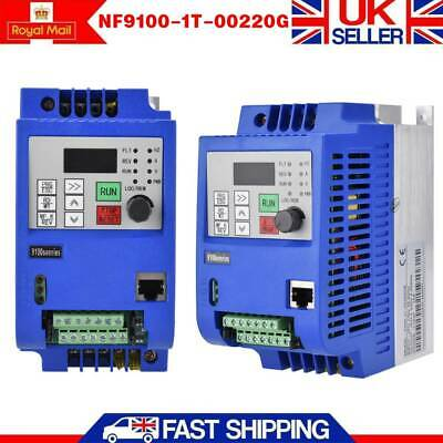 VFD Inverter Frequency Converter Single-phase to 3-phase AC 220V 2.2KW 3HP 10A