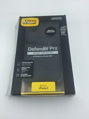 OtterBox Defender Series Pro with Holster for Apple iPhone XS and X -Black