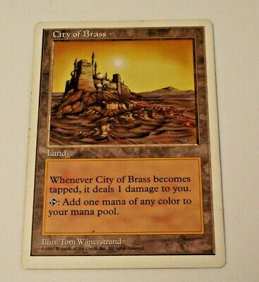 Fifth Edition City of Brass MP MTG Magic The Gathering