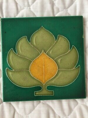 Original Art Nouveau Tile