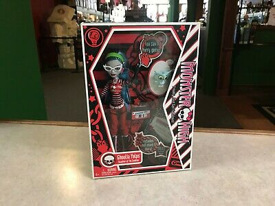 2010 Mattel Monster High GHOULIA YELPS SIR HOOTS A LOT Doll Sealed NEW NIB