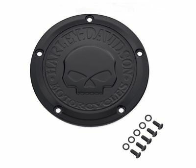 Harley 25441-04A Touring FLH . Derby Cover Accesso Frizione Willie G Skull Orig
