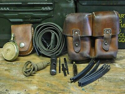 SKS Ammo Pouch, Stripper Clips, Sling and Tools. Yugoslavia. Good Condition