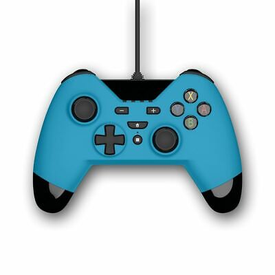 Gioteck Wx4 Wired Blue Controller (Nintendo Switch, Ps3 & Pc)