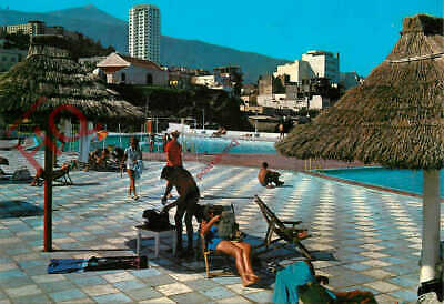 Postcard:-Tenerife, Puerto De La Cruz, Piscinas De San Telmo, Swimming Pools