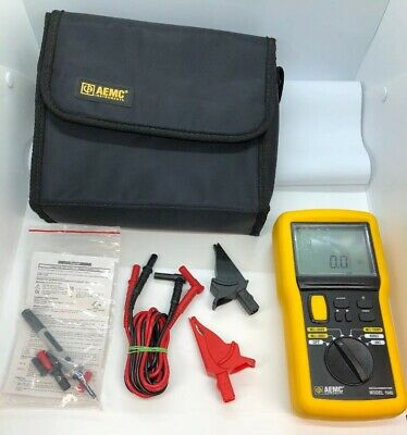 AEMC MEGOHMMETER Model 1045 Digital Insulation Resistance Electrical Tester