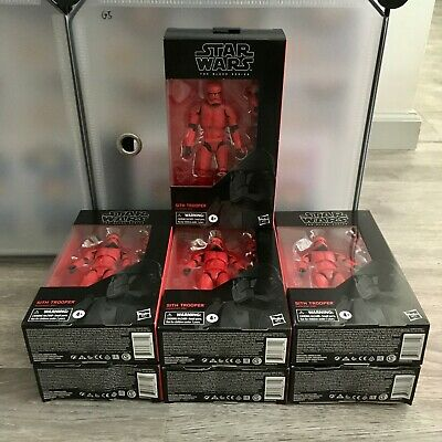 Star Wars: The Rise of Skywalker The Black Series Sith Trooper 6-Inch Figure