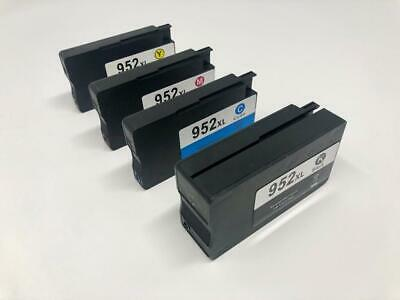 4 ink Cartridge 952XL for HPOfficejet Pro 8710 8715 8716 8720 8725 New Chip