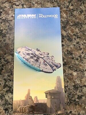 Star Wars: Galaxy's Edge Opening Day Map Hollywood Studios Batuu