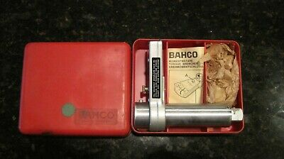 Vintage Bahco 816 MECHANICAL TORQUE WRENCH 0-50 Kpm / 0-350 foot pound NEW