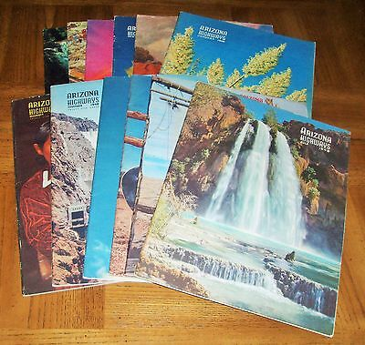 1948 Arizona Highways -Lot Of Twelve (12 )- Complete Full Year - Jan Through Dec