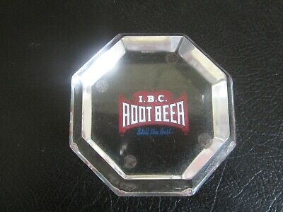 Sm Vintage IBC Still The Best Root Beer Soda Red Cloth Patch 1970s NOS New I.B.C