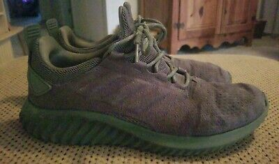 best loved 3eaee d6875 MENS ADIDAS ALPHABOUNCE CITY BOUNCE SHOES CG4572 Base Green Sneakers Size  10.5