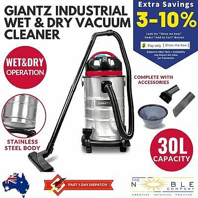 WET DRY Bagless Vaccum INDUSTRIAL SHOP VAC CLEANER COMMERCIAL Work Vacuum Blower
