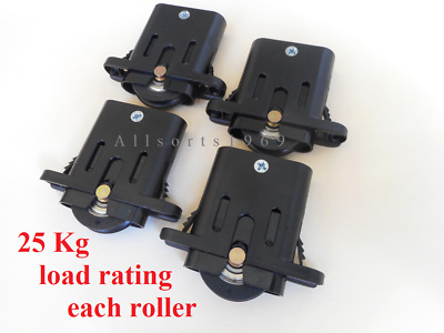Doric DR234/64 Sliding Security Screen Door Rollers Wheels  FOUR  free postage