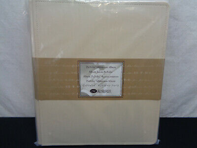 Creative Memories Picfolio Milestones Cream Leather (OAY59)