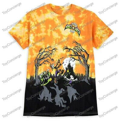 DISNEY Parks HALLOWEEN 2019 TEE for ADULTS TIE Dye DISNEYLAND Pick Size NWT