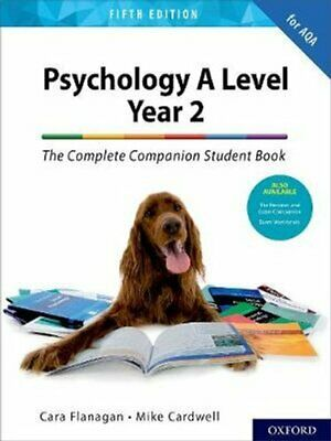 The Complete Companions for AQA A Level Psychology 5th Edition:... 9780198436331