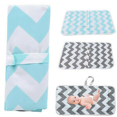 Portable Foldable Washable Waterproof Travel Baby Nappy Diaper Changing Mat Pad