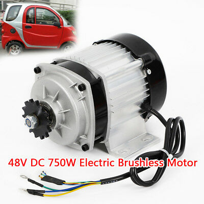 48V DC 750W Electric Brushless Motor w Controller DIY E-Bike
