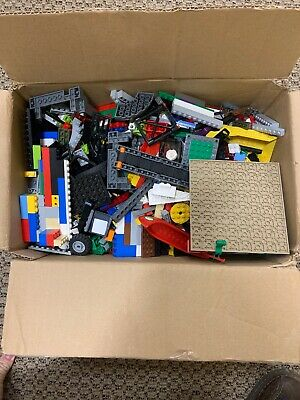 10 Pound LBS of Bulk Used LEGO Extra Parts Bricks Lot Loaded With Small Pieces