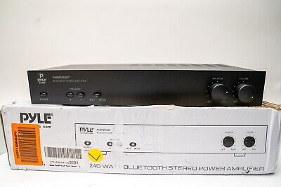 Pyle PAMP2000BT Bluetooth Digital Stereo Power Amplifier