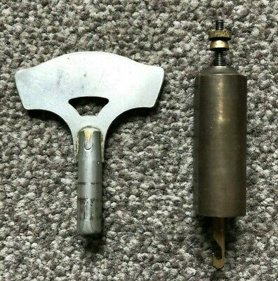 Genuine Smiths Enfield Pendulum and Key