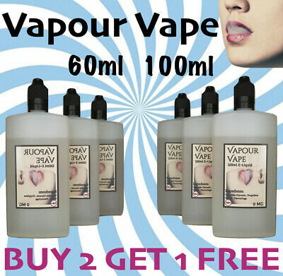 E liquid Vape Juice Eliquid 100ml Max VG 80/20 Cloud Chaser Sub OHM 0MG 3MG 6MG