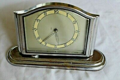 art deco mantle clock  spares/repair  2969