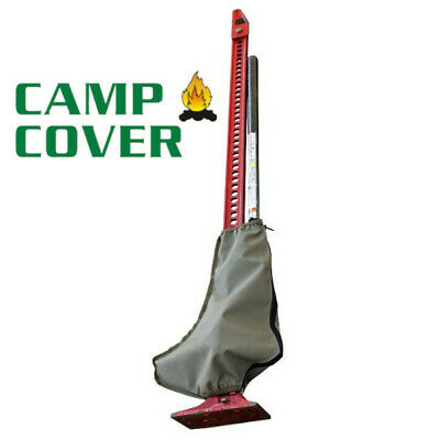 Camp Cover Hi-Lift Jack Foot Cover - Khaki Ripstop - CCM006-B