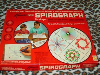 Vintage Kenners 1967 - SPIROGRAPH game (Complete w/NO PENS)