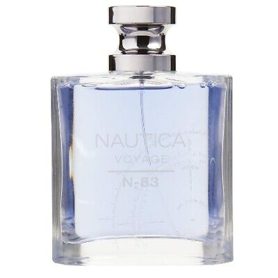 Nautica Voyage N-83 by Nautica 3.4 oz EDT Cologne for Men Brand New Tester