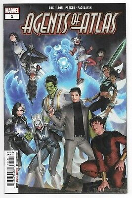 Marvel Comics AGENTS OF ATLAS #1 first printing