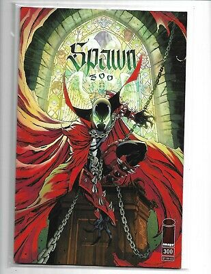 SPAWN #300 Cover  G J. Scott Campbell Variant Image 2019 NM (v16)